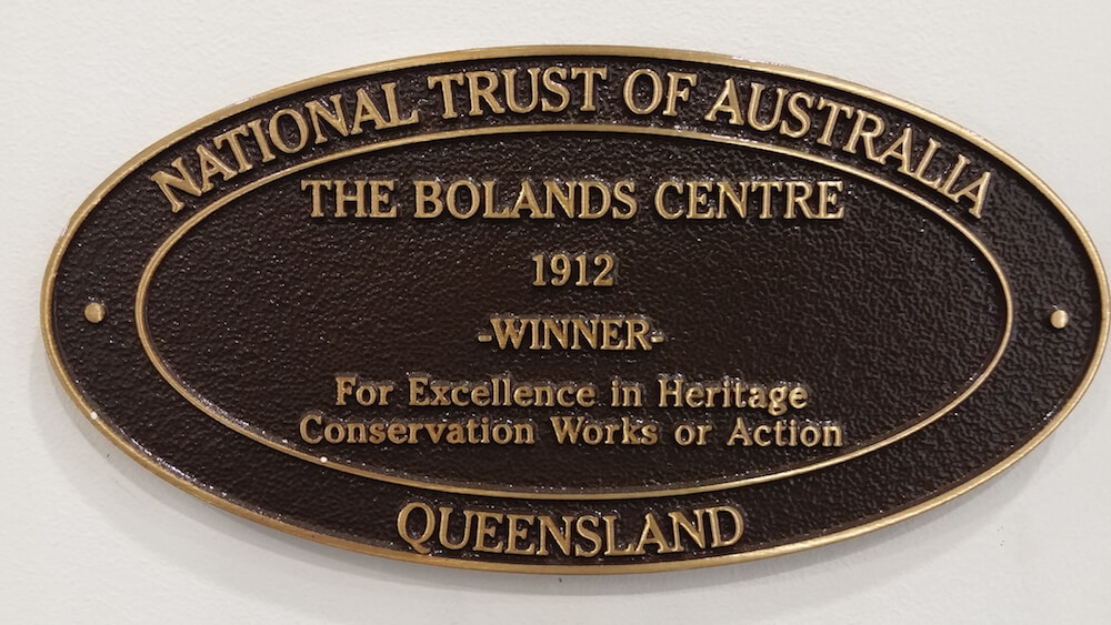 BOLANDS Heritage Award 1